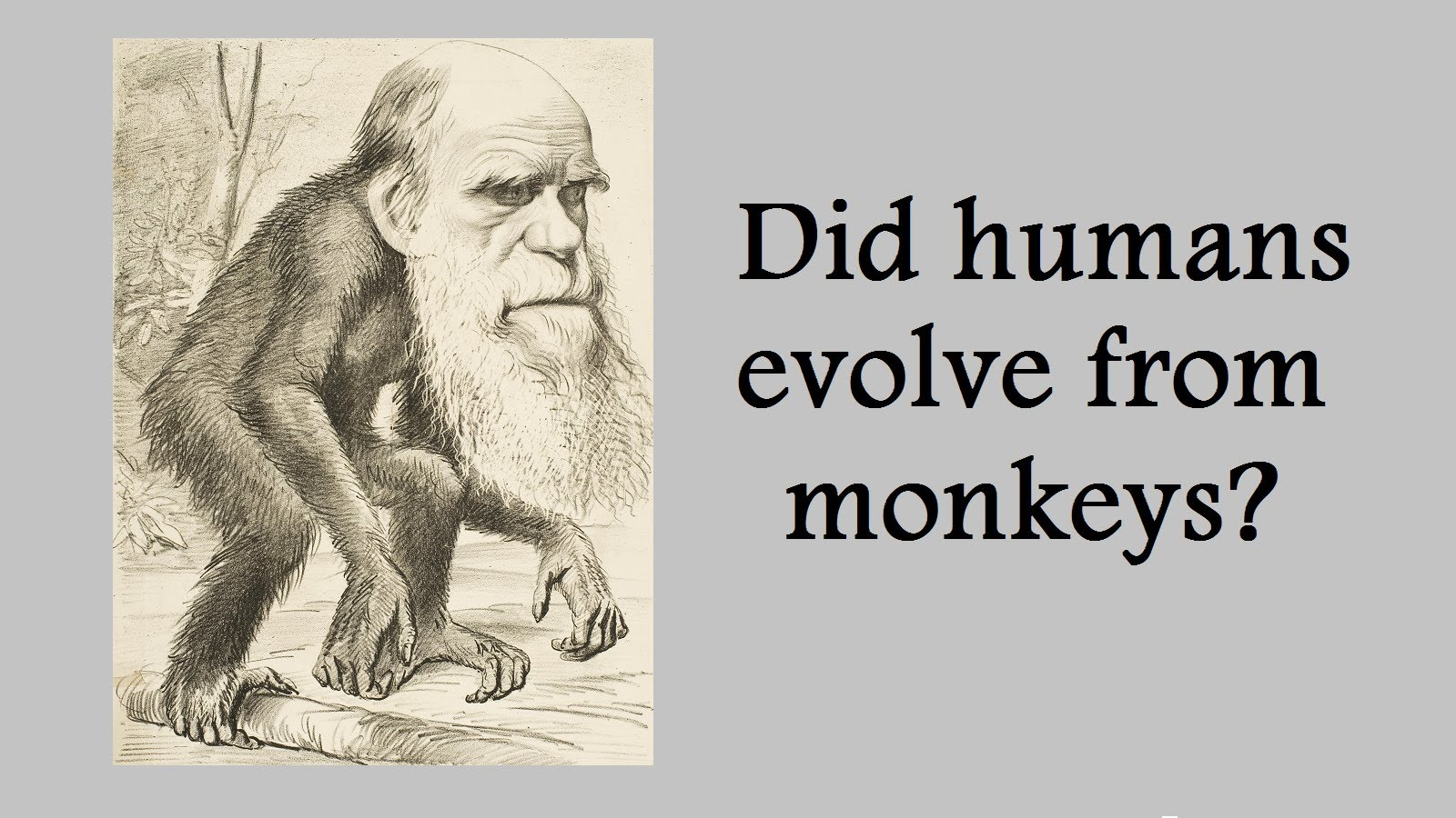 Why Satyapal Singh is right on Darwin's theory of evolution