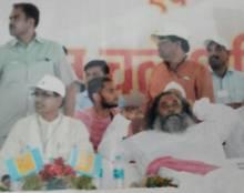 Maharaj Ji with MP CM Shivraj Singh ji