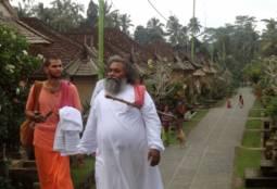 Maharaj ji Visiting a Village in Bali