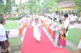 Maharaj ji Welcom in Bali