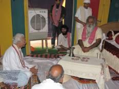 Swami ji with Ashok Singhal ji